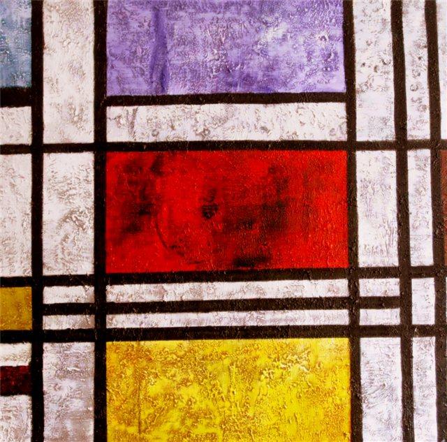 """Schilderij """"Mondrian"""""""
