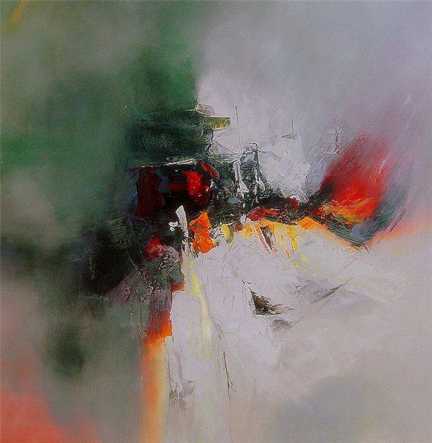 Abstract schilderij the fil