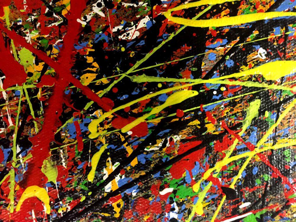 schilderij kleurrijk lijnenspel close-up2