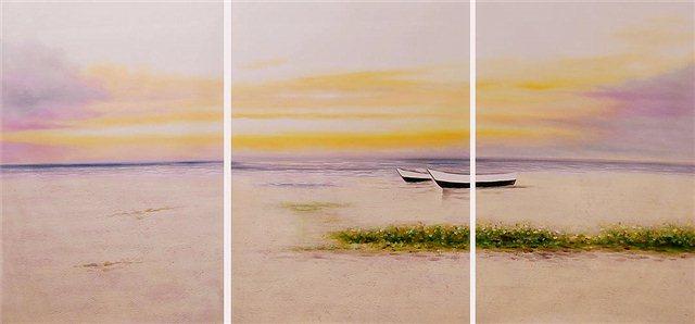 Twee vissersbootjes