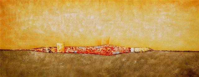 """Schilderij """"De vrijheid"""""""