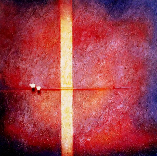 Still purple