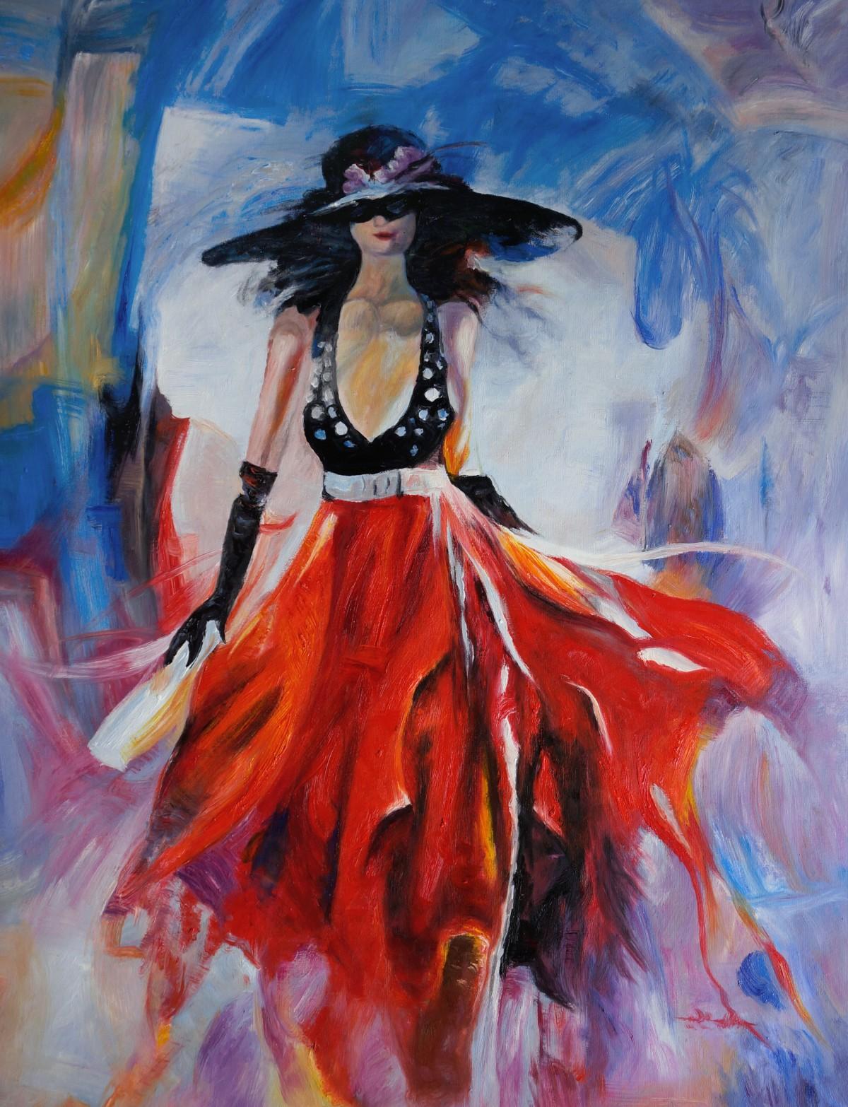 Schilderij elegance te koop - Associatie van kleur e geen schilderij ...
