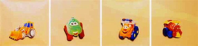"Schilderij ""Toys"""
