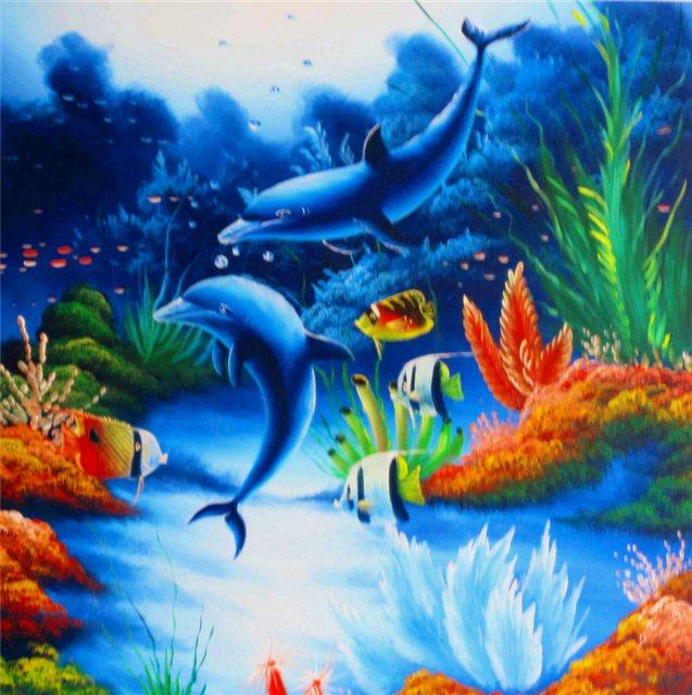 Twee dolfijnen