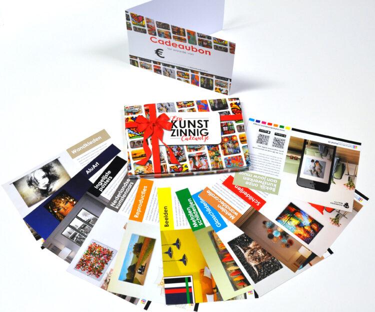 Kunst cadeaubon/box