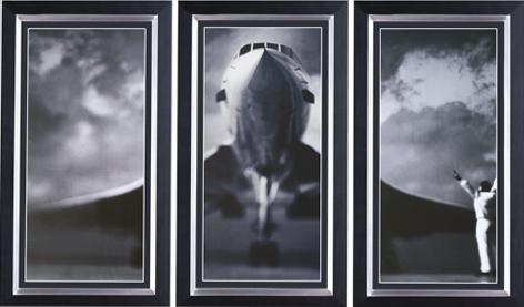 """Ingelijste poster """"Drieluik Concorde"""" van Mondiart"""