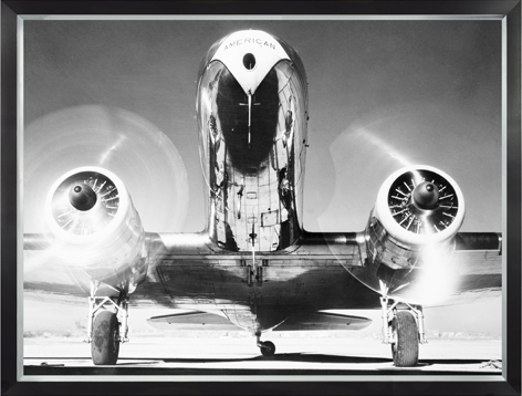 Klassiek vliegtuig Take-off