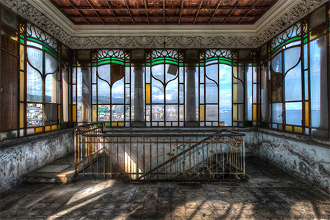 Lacour – Glas in lood (hoog)