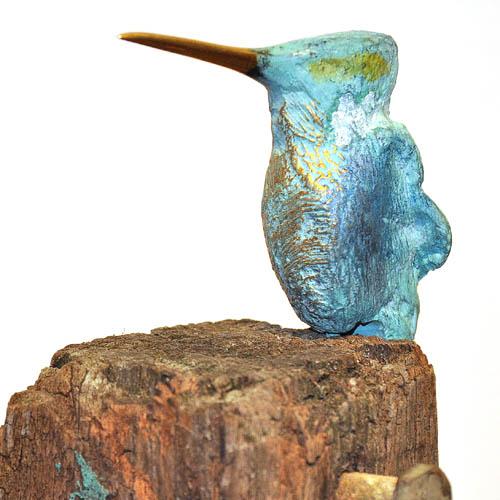 ijsvogel bracons op paal 1 schuin - tn
