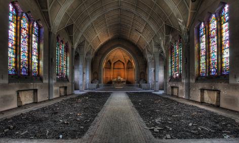 Lacour – The chapel