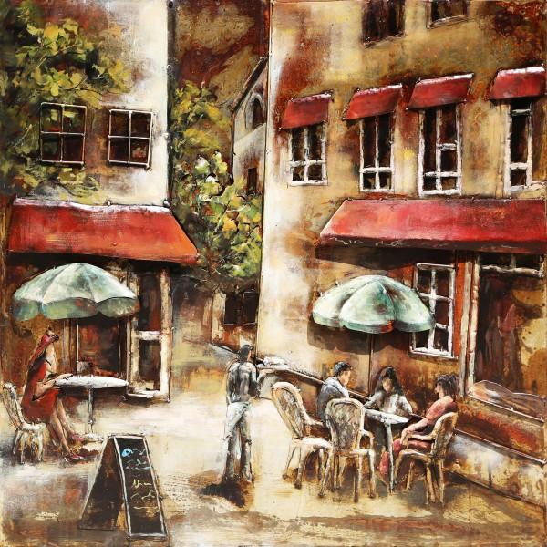Pleintje in Parijs