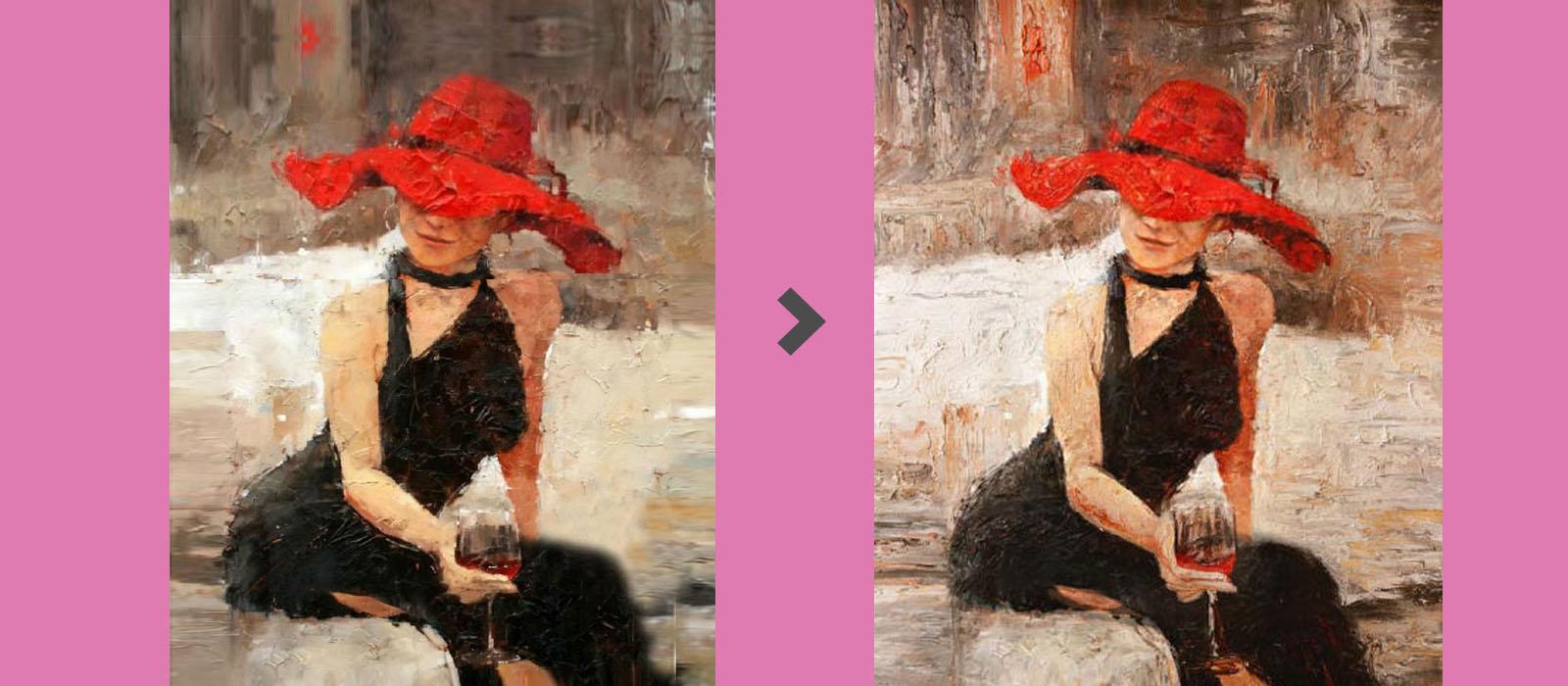 voorbeeld schilderijen in opdracht red lady