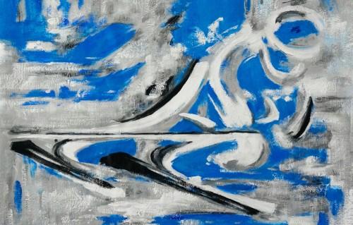 Een sportief schilderij op maat