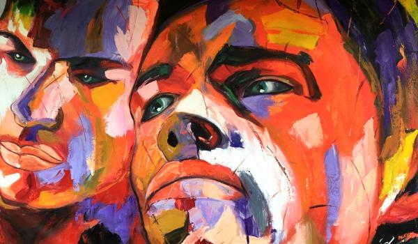 Soorten schilderijen om thuis op te hangen - Moderne kamer volwassen schilderij ...