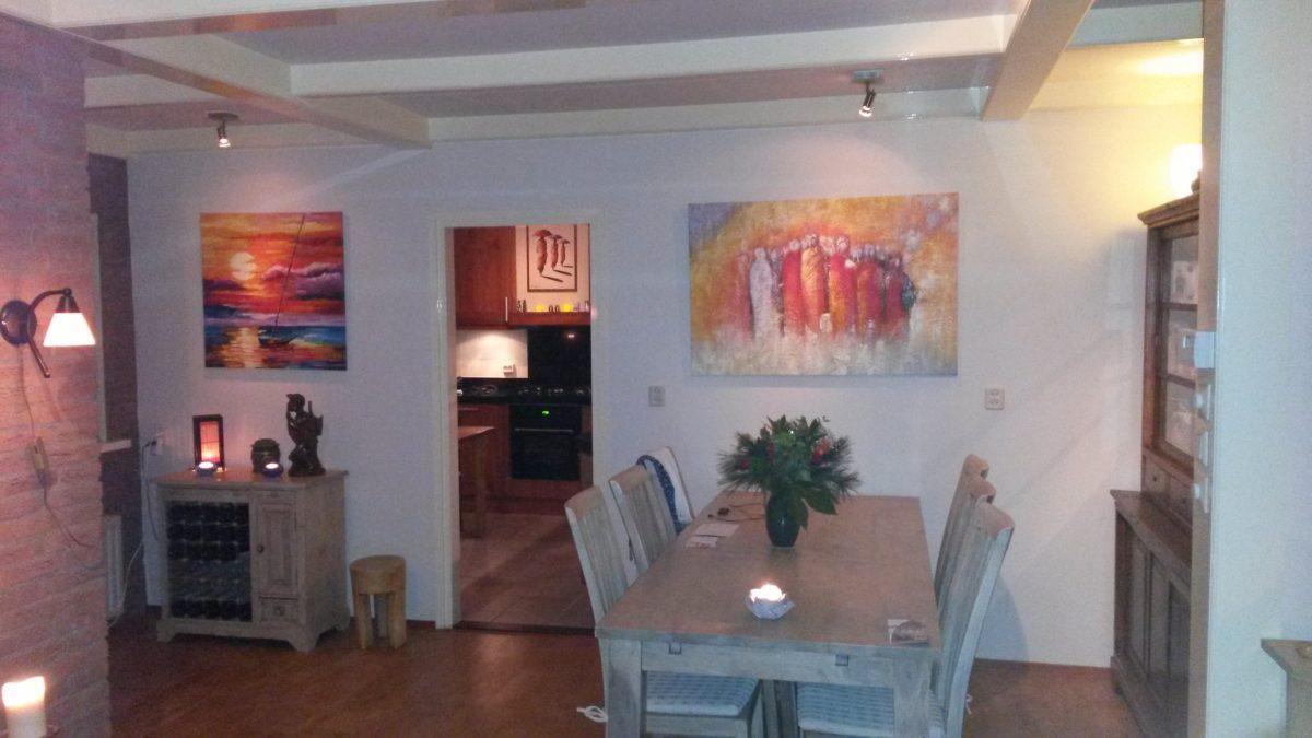 Onze woonkamer versierd - Onze mooie ideeen ...