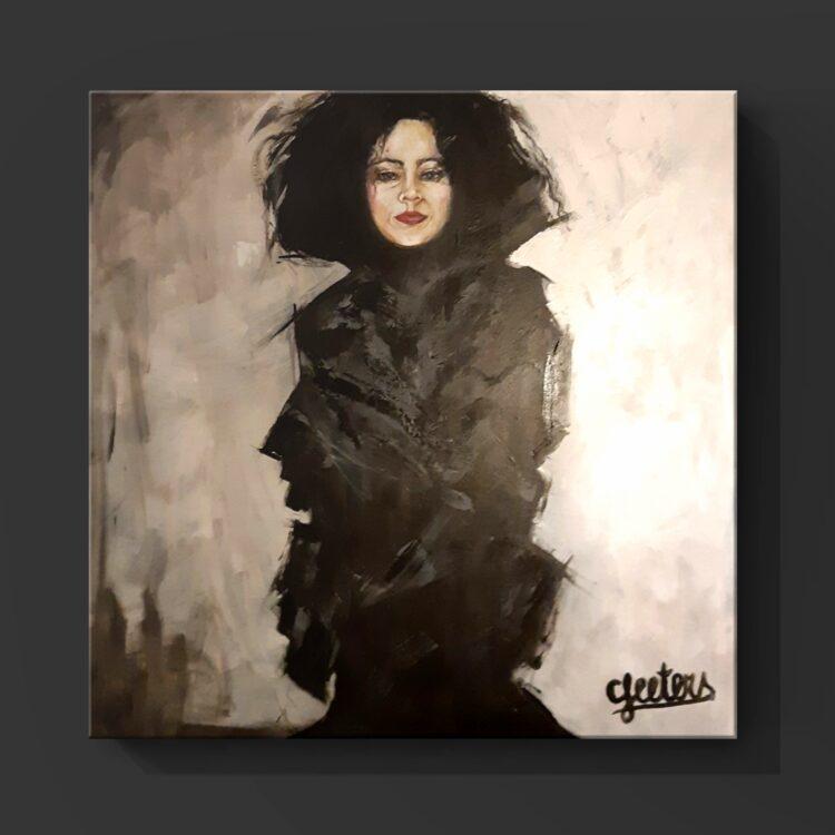 """Schilderij """"Gina"""""""