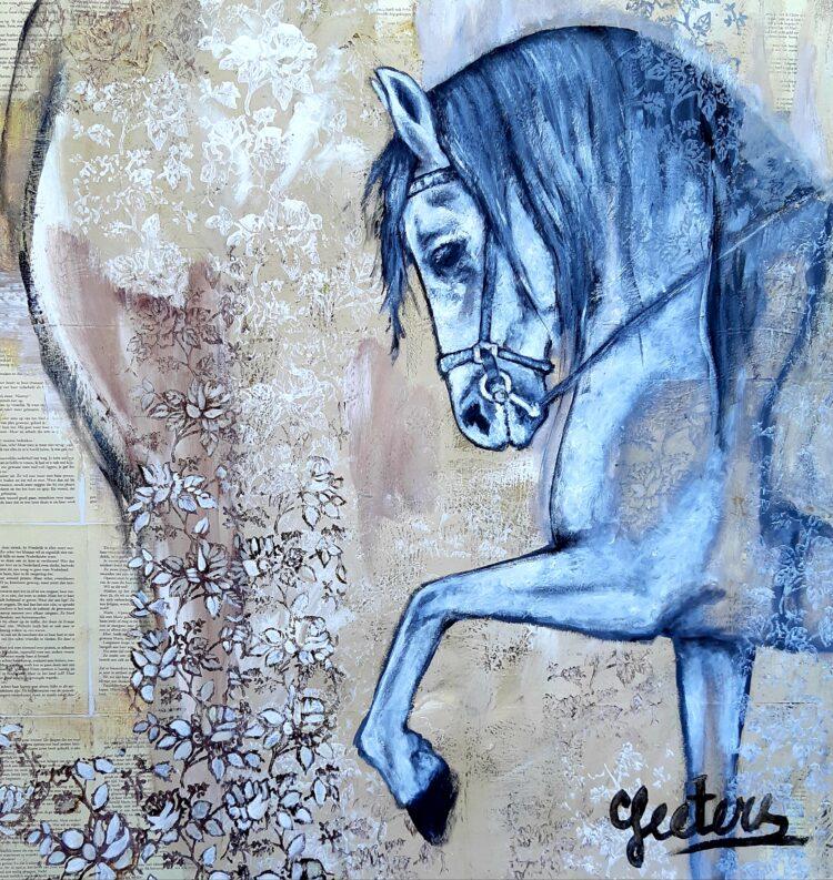"Schilderij ""Andalusian"""