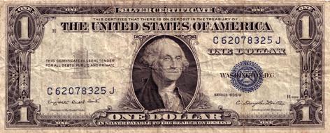 Amerikaanse dollar George Washington
