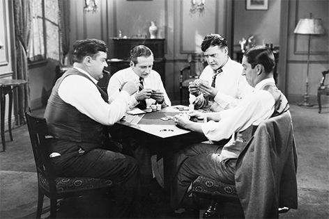Pokeravond