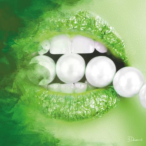 Bas – Pearls Green
