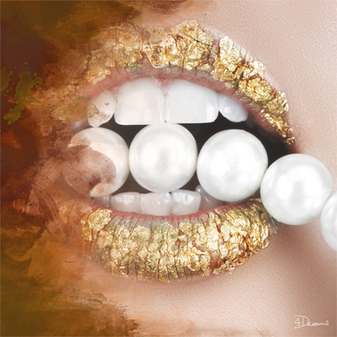 Bas – Pearls Gold