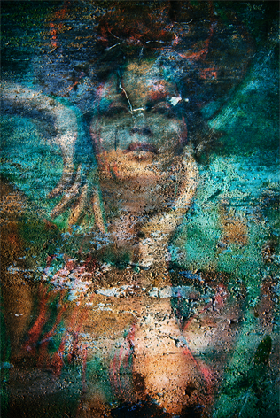 "Aluminium schilderij ""Bas – Alaya"" van Mondiart"