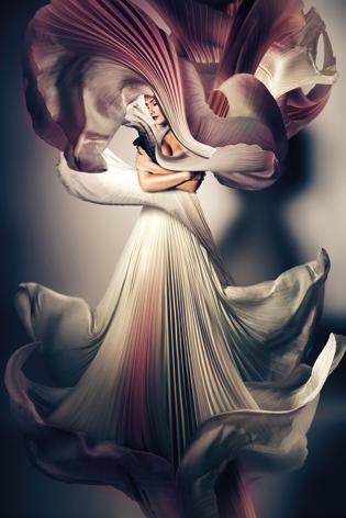 "Aluminium schilderij ""Mystic woman"" van Mondiart"