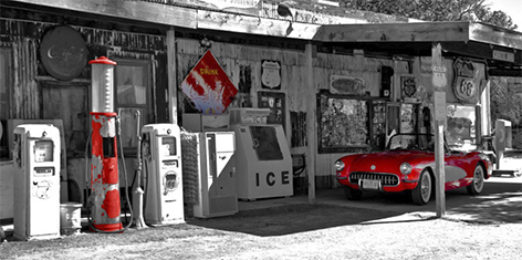 Gasstation Route66