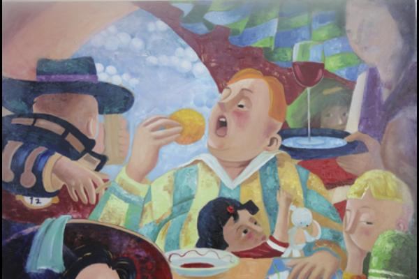 Moderne Kunst Keuken : Kunst in de keuken: welke schilderijen zijn leuk om op te hangen