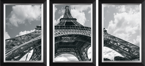 Drieluik Eiffeltoren