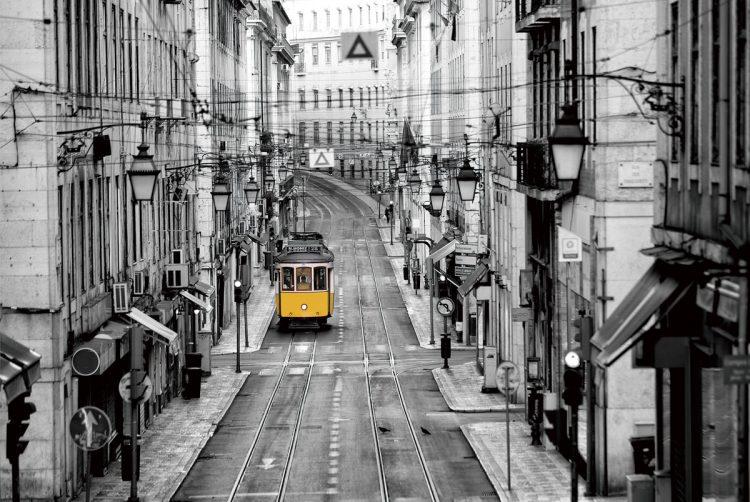 Gele tram