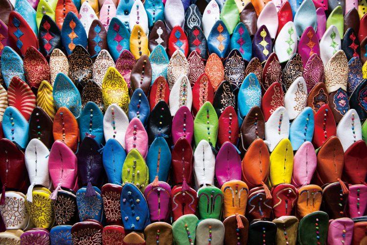 Marokkaanse pantoffels