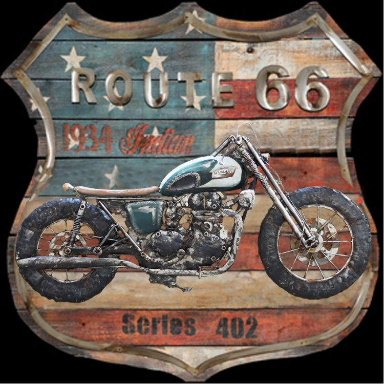 Stoere motor route66