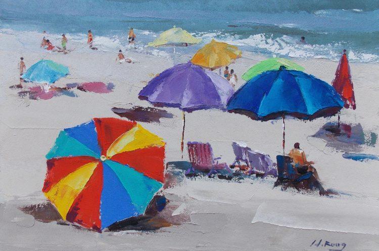 Allemaal parasols