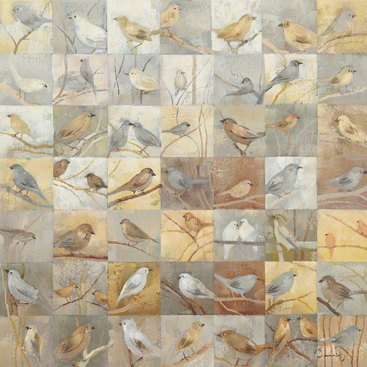 Vogeltjes in een hokje