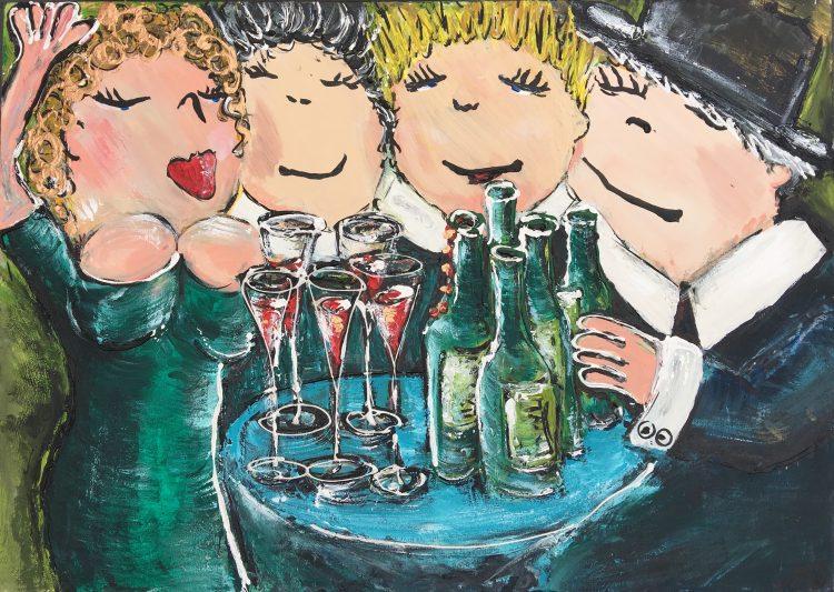 En toen was er wijn!!!!