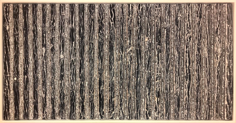 kunstwerk henk broeke Black forest – 63 x 123 cm