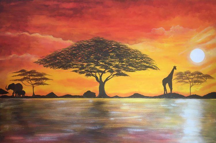 Afrika blij