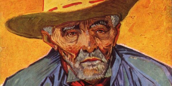 Schilderij van foto - Van Gogh