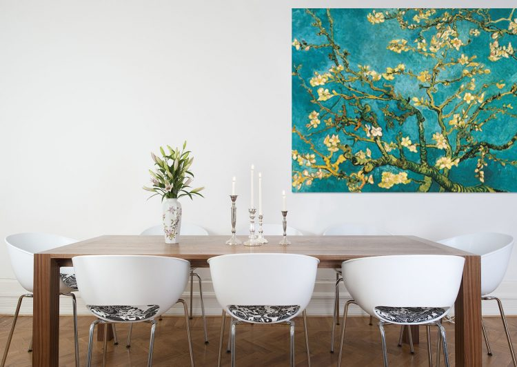 "Aluminium schilderij ""Blossom – Van Gogh"" van Mondiart"