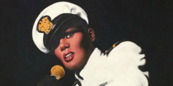Schilderij van foto - Grace Jones
