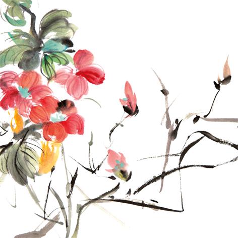 """Aluminium schilderij """"Kleurrijke bloemen"""" van Mondiart"""