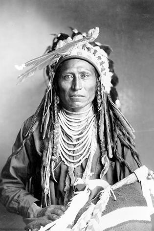 Heebe-tee-tse of the Shoshone Nation