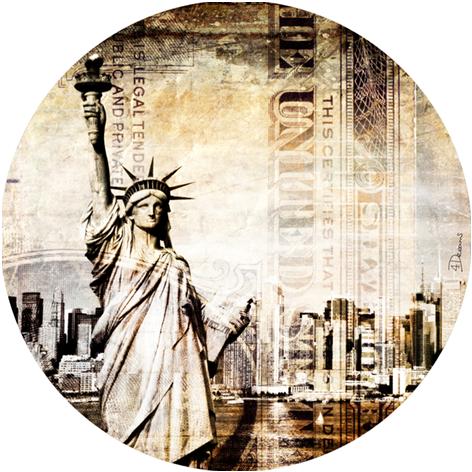 New York Vrijheidsbeeld Dollar