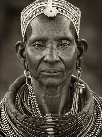 Ngurunit Samburu woman