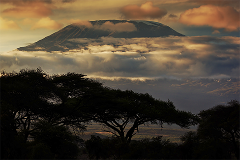 Kilimanjaro volcano