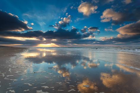Sunset in Zandvoort
