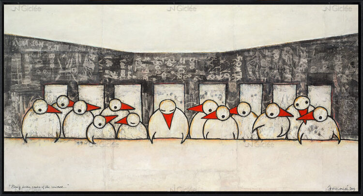 Being in the centre of the universe…