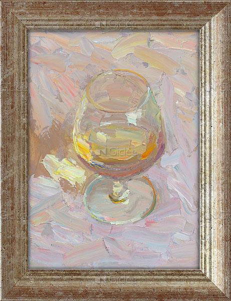 """Giclée/reproductie """"Cognac in the sun"""" met certificaat"""